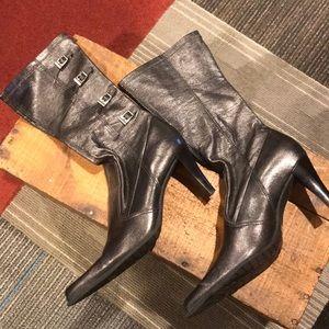 Franco Sarto Silver/pewter Boots